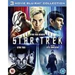 Star Trek, Star Trek Into Darkness & Star Trek Beyond [Blu-ray] [2016] [Region Free]